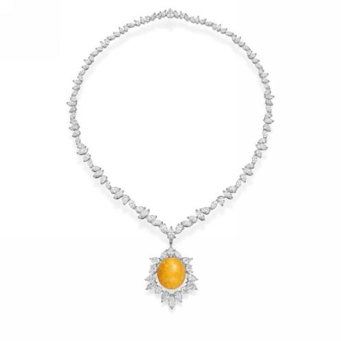 MIKIMOTO 18K白金美乐珍珠项链配钻石 RMB 4,920,000