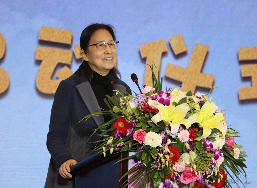 首都师范大学美术学院教授、著名少儿美育专家 杨景芝 讲话