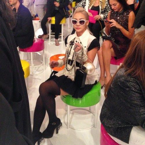 CL亮相Chanel秀场