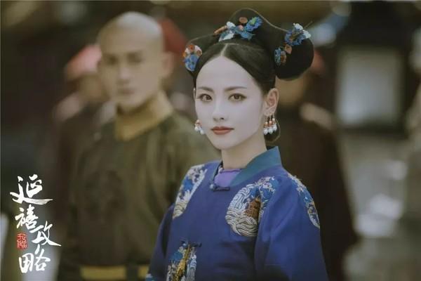 张嘉倪扮演的顺嫔