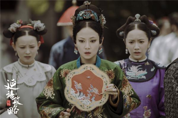 谭卓饰演的高贵妃