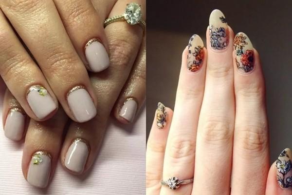 最适合搭配婚纱的指彩样式