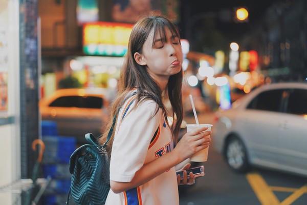 林允独家喝奶茶减肥法,合理的!