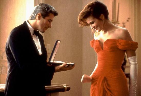 Julia Roberts在电影《风月俏佳人》