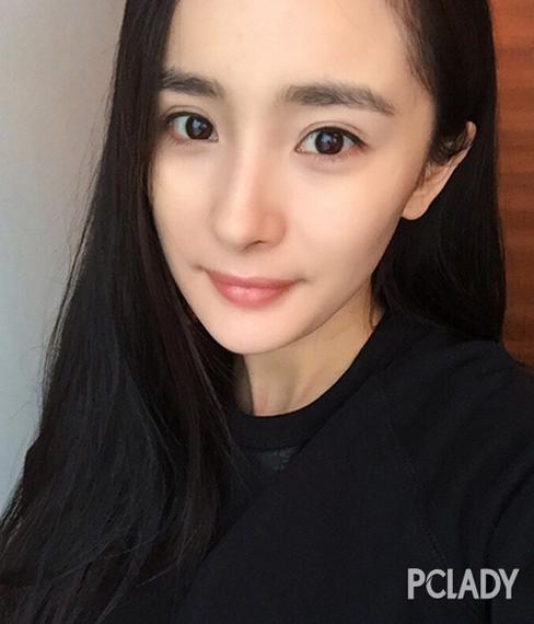 ab杨幂的欧式双眼皮 全靠蕾丝双眼皮神器?