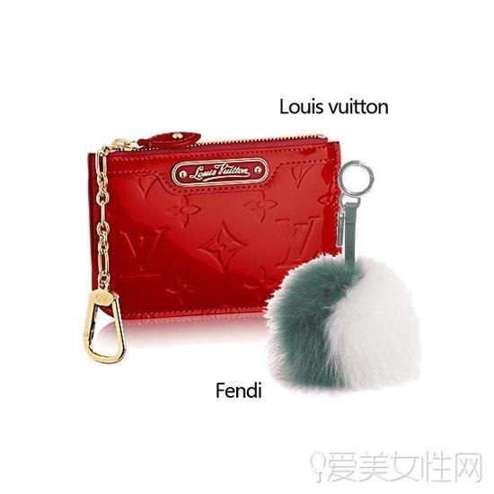 Louis vuitton红色手包
