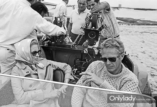 阿兰毛衣在50、60年代开始扬眉吐气