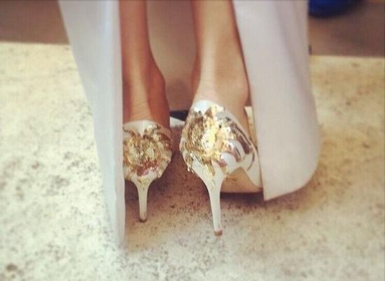 婚鞋图片大全 婚鞋有什么讲究 - 点击图片进入下一页