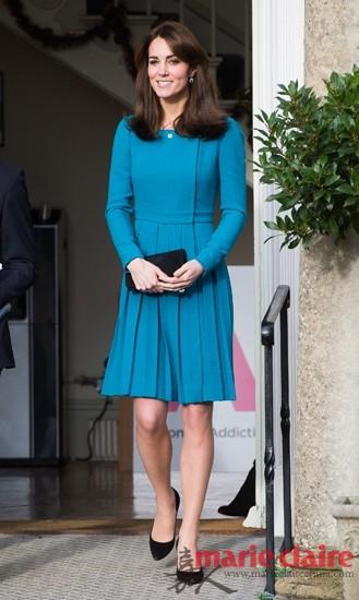 优雅精致的凯特王妃一直维持着完美的形象