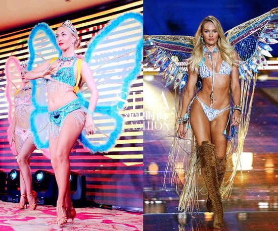 天使与野鸡的对比图