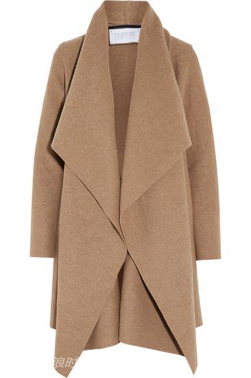 Harris Wharf London披肩领羊毛外套