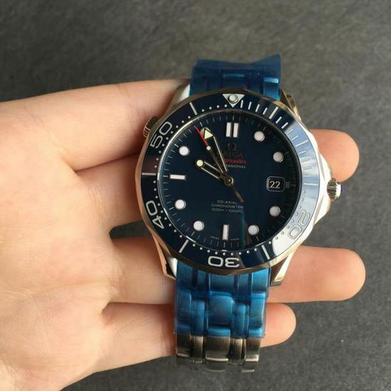 Omega Omega Seamaster ippocampo sezione blu