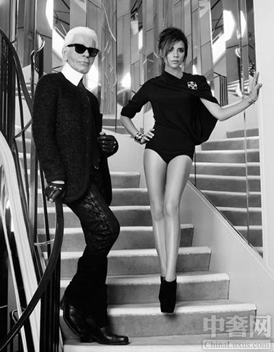 与Vanessa Paradis一同登上《费加罗》的封面