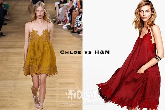 Chloe和H&M