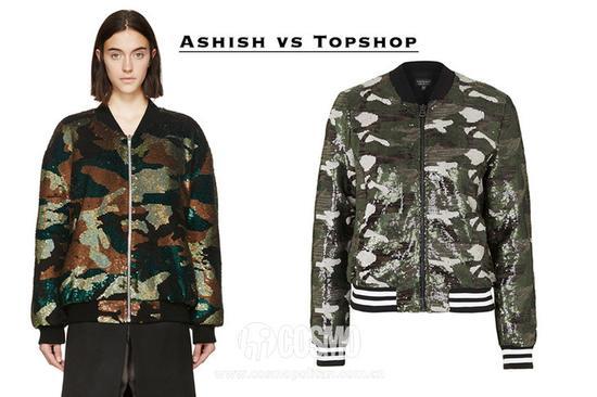 Ashish和Topshop