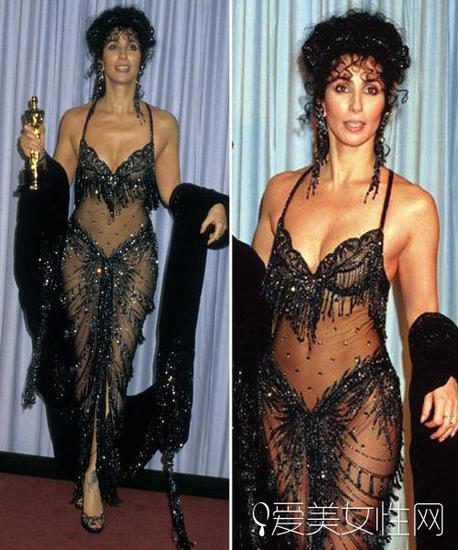 Cher那套更性感的礼服