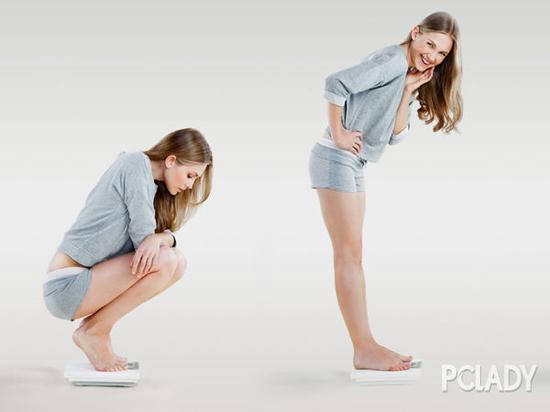 腹部减肥最快方法之姿势七