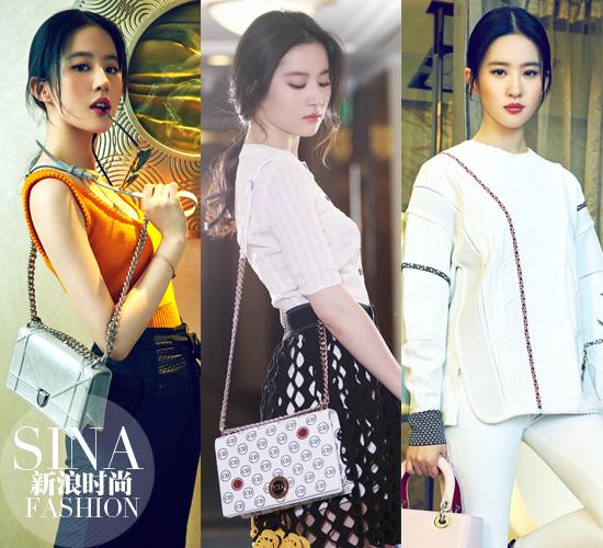 刘亦菲in Dior的唯美大片
