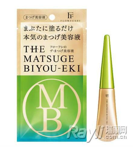 "FLOW Fushi""THE MATSUGE BIYOU-EKI""睫毛美容液 5g/1,200日圆,未含税"