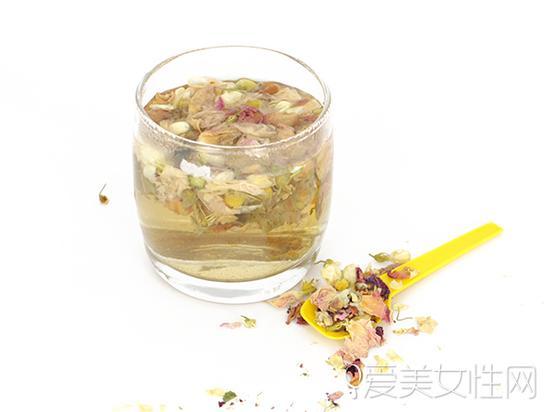 薰衣草玫瑰花茶