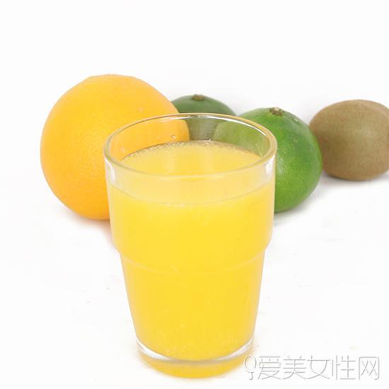 鲜榨果汁营养补给