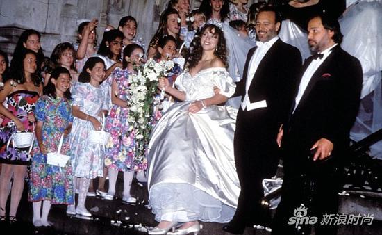 Mariah Carey1993年的婚礼