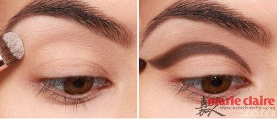 单眼皮化妆小技巧