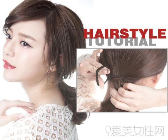 不同发型需搭配不同刘海图片