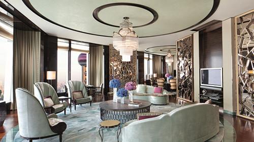 上海浦东丽思卡尔顿酒店大套房
