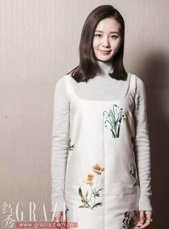 刘诗诗为新戏站台宣传