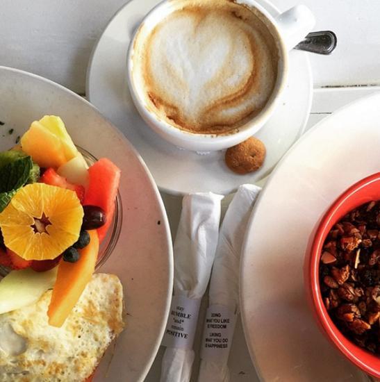 蛋白质和全谷物的早餐