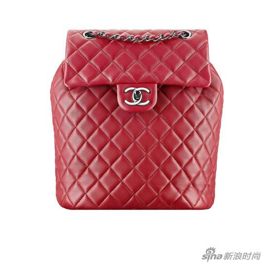 Chanel 2016春夏係列紅色雙肩包(楊冪同款)