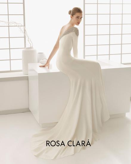 Rosa Clara修身婚