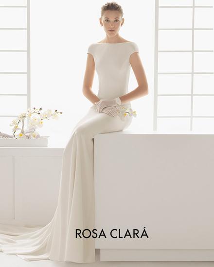 Rosa Clara一字婚
