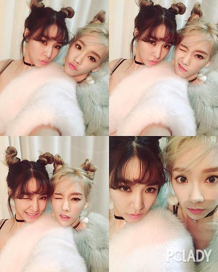 泰妍和Tiffany