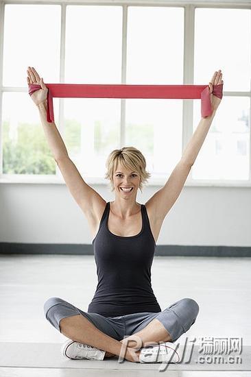 运动瘦手臂