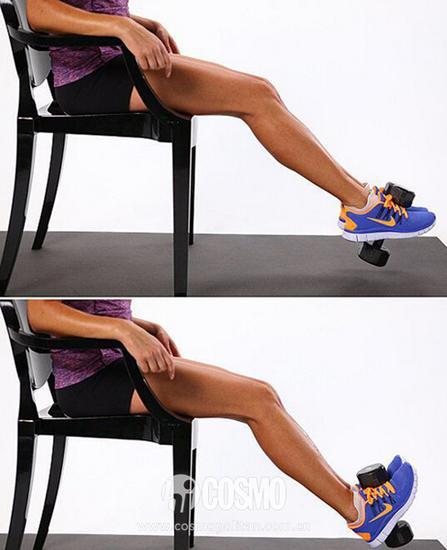 座椅抬腿法