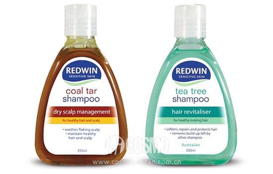 Redwin天然无硅油洗发水