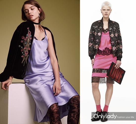 左:来自英国版ELLE  右:Givenchy 2016早秋系列