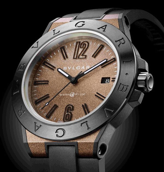 Bulgari Diagono Magnesium smart watch concept