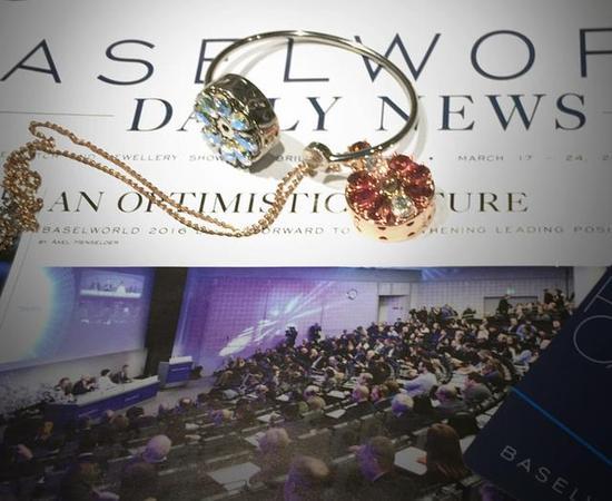 "totwoo smart jewelry ""Bloom Bloom"" series Swarovski bracelets, pendants"