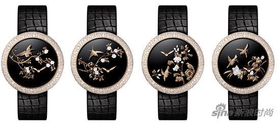 香奈儿Mademoiselle Privé珠宝系列腕表