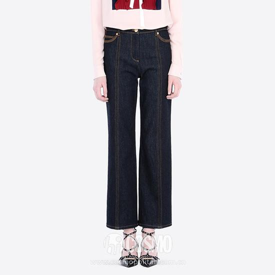 Valentino 绗缝喇叭牛仔裤 8,700CNY