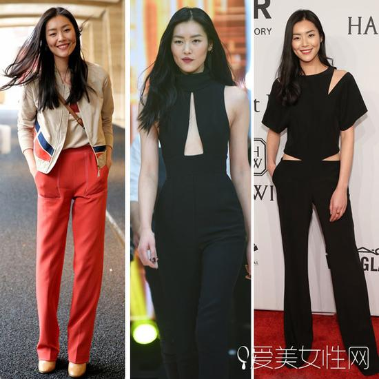 刘雯的私服造型
