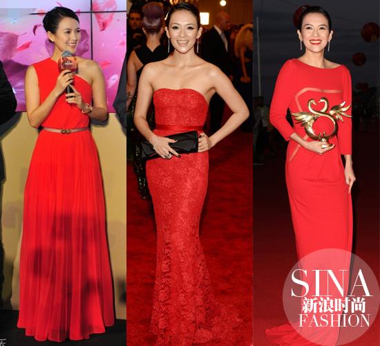 国际章偏爱红裙