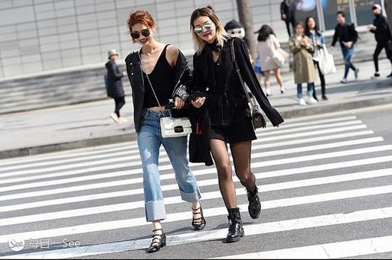 时装周街拍