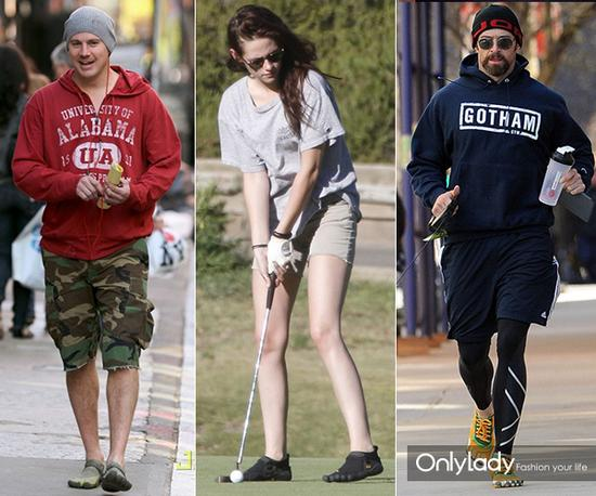 Channing Tatum、Kristen Stewart、Hugh Jackman