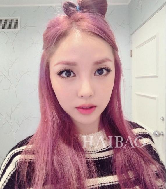 糖果粉 X 嫩粉/灰粉色