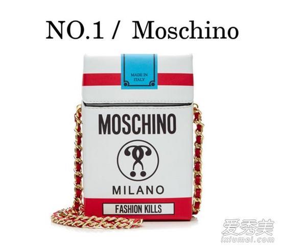 Moschino香烟盒包包 RMB约6000