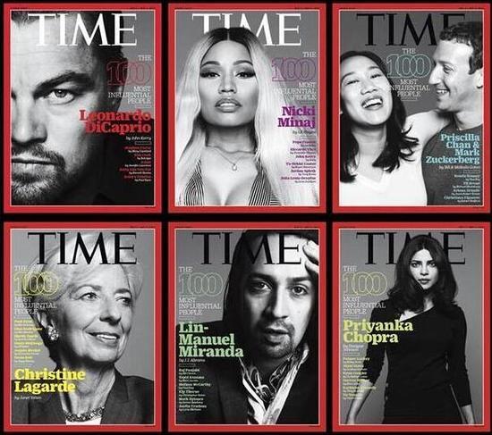 """《时代周刊》2016年度""""全球最具影响力人物""""封面。"""